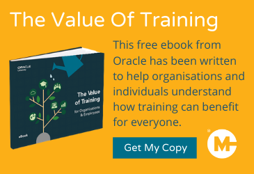 the value of training ebook cta